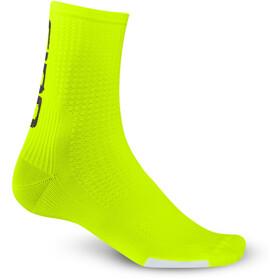 Giro HRC Team Socks Unisex highlight yellow/black